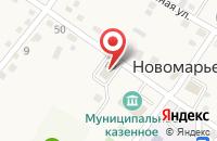 Схема проезда до компании Скорая медицинская помощь в Новомарьевской