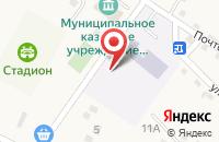 Схема проезда до компании Средняя общеобразовательная школа №17 в Новомарьевской