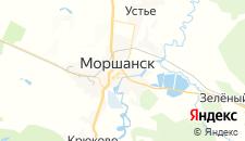 Отели города Моршанск на карте