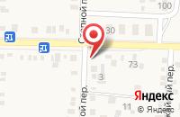 Схема проезда до компании Анига в Морозовске