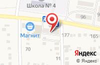 Схема проезда до компании Восток в Морозовске