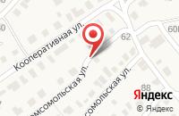 Схема проезда до компании Сервер в Рассказово