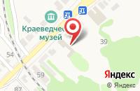 Схема проезда до компании Омега в Рассказово