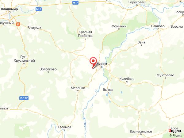 село Стригино на карте
