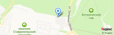 ЮгЭлектроКомплект на карте Ставрополя