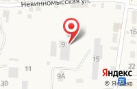 Схема проезда до компании АлГо-пласт в Татарке