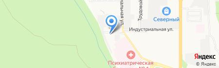 Инвестстрой-77 на карте Ставрополя
