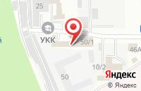Схема проезда до компании Верналд в Ставрополе