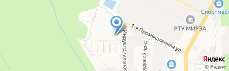 Еврокамень на карте Ставрополя