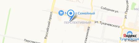 Перспективный на карте Ставрополя