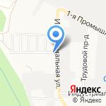 Автосервис Nissan на карте Ставрополя