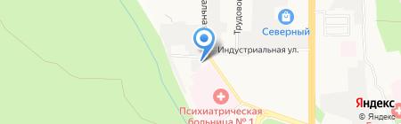 Ессентуки Аква на карте Ставрополя