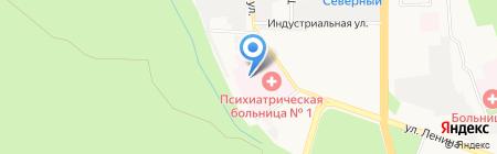 Храм-часовня блаженной Матроны Московской на карте Ставрополя