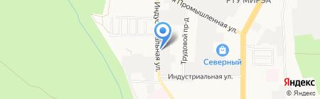 Ставрополькрайавтодорсервис на карте Ставрополя