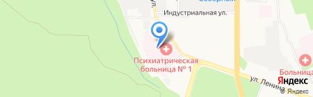 Ставропольская краевая клиническая психиатрическая больница №1 на карте Ставрополя