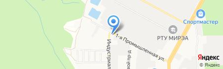 АЗС на карте Ставрополя