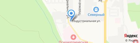Волга на карте Ставрополя