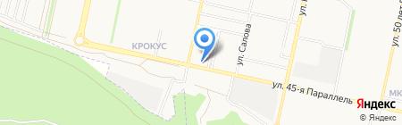 Горилка на карте Ставрополя