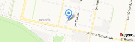 ОлимПИВский на карте Ставрополя