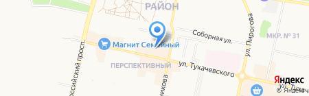 Даша на карте Ставрополя