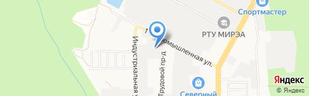 Приоритет-Авто на карте Ставрополя