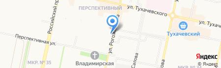 Севастопольский на карте Ставрополя