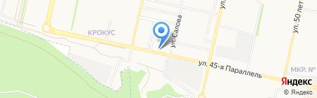Банкомат Московский Индустриальный Банк на карте Ставрополя