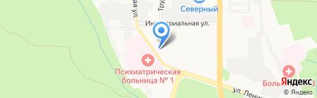 Нестерова и Ко на карте Ставрополя