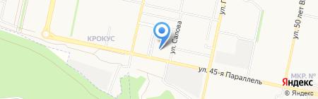 Инженерный Сервисный Центр на карте Ставрополя