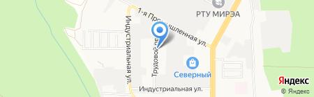 Электрокомплект на карте Ставрополя