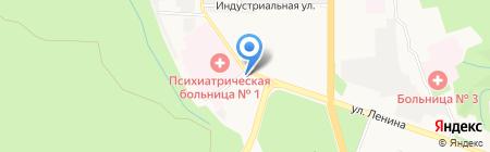Ставропольское троллейбусное предприятие на карте Ставрополя