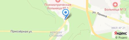 М-Центр на карте Ставрополя