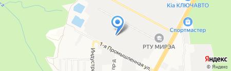 Ритм-Б на карте Ставрополя