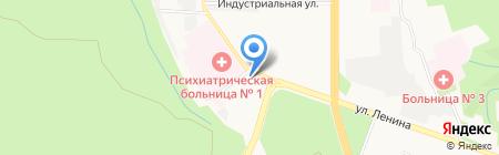 Взгляд на карте Ставрополя