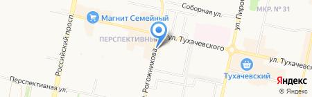 ТГС-КЛИМАТ на карте Ставрополя