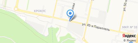 ARTpizza на карте Ставрополя