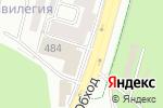 Схема проезда до компании Гиро. у грека в Ставрополе