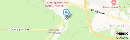 АЗС Октан на карте Ставрополя