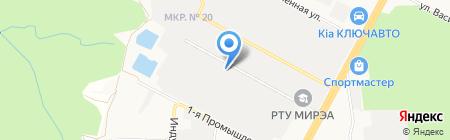 Wood-Lander на карте Ставрополя
