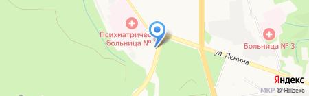 Бизнес-Мост на карте Ставрополя