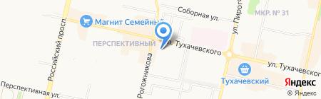 Яло 33 на карте Ставрополя