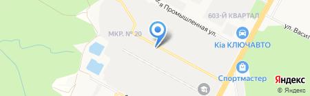 Элемент СПК на карте Ставрополя