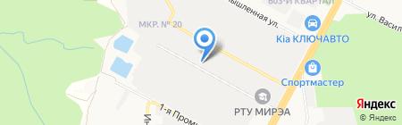 Легион Плюс на карте Ставрополя