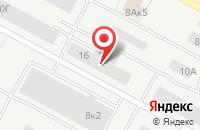 Схема проезда до компании Омега в Ставрополе