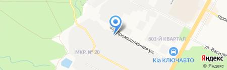 Цемент плюс на карте Ставрополя