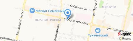 Жаба на карте Ставрополя