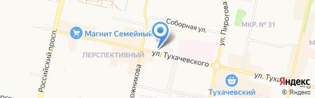 Перспектива на карте Ставрополя