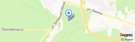 Ставропольский ботанический сад им. В.В. Скрипчинского на карте Ставрополя