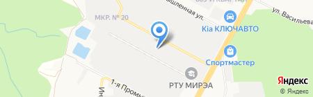 Стройкомплект на карте Ставрополя
