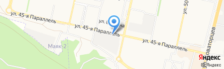 ОКМА-СТАВ-ЮГ на карте Ставрополя